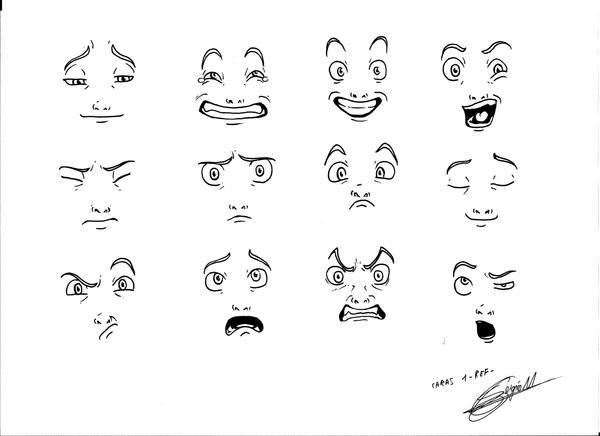 Faces 1 by MUsashiTong