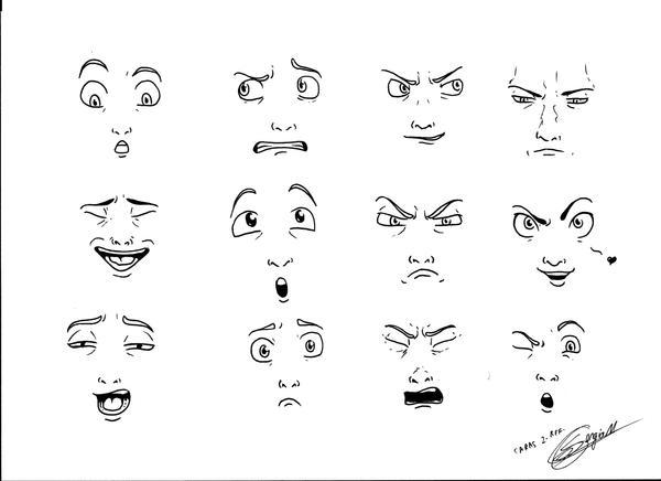 Faces 2 by MUsashiTong