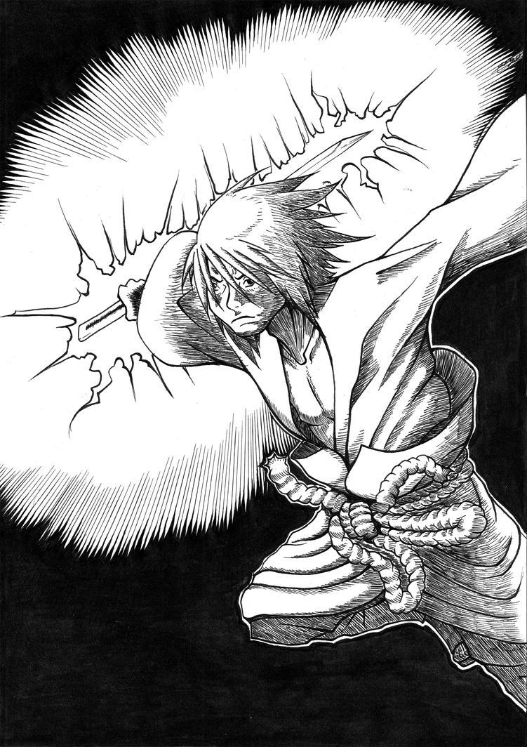 Sasuke Chidori by MUsashiTong