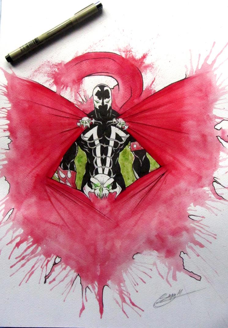 Spawn Watercolor by MUsashiTong