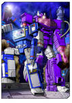 Soundwave and Shockwave - coloured version
