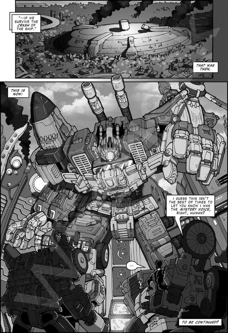 Warbotron WB01 comic booklet - last page by Whelljeck