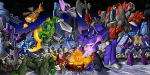 Battle on Cybertron