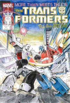 Optimus vs Megatron