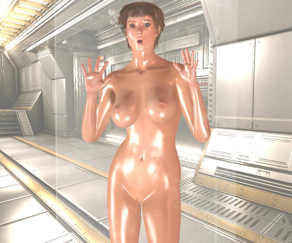 Sonja Clone Encasement - test subject 1 by Dollmistress