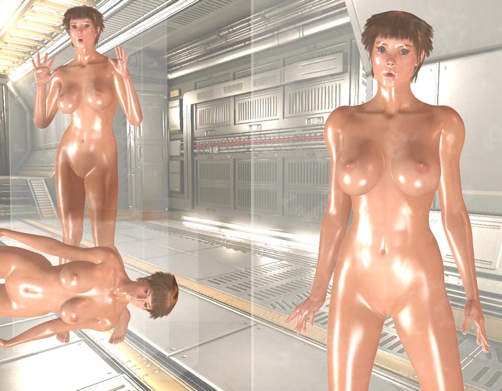 Sonja Clone Encasement - test subject 3 by Dollmistress