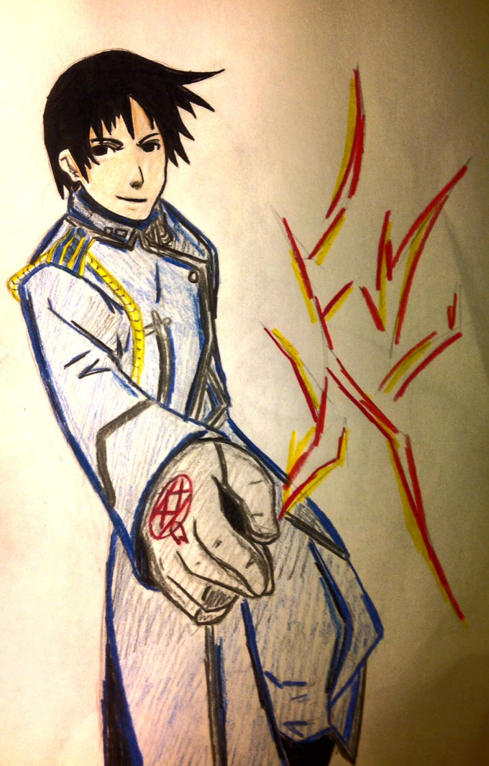 Roy Mustang: the Flame Alchemist by nika-chann