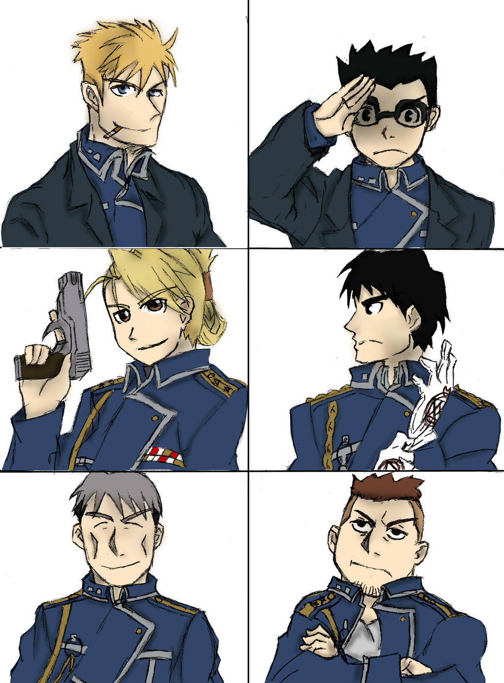 The Mustang gang by nika-chann