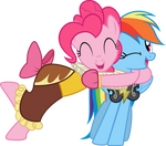 PinkieDash - Hugs!