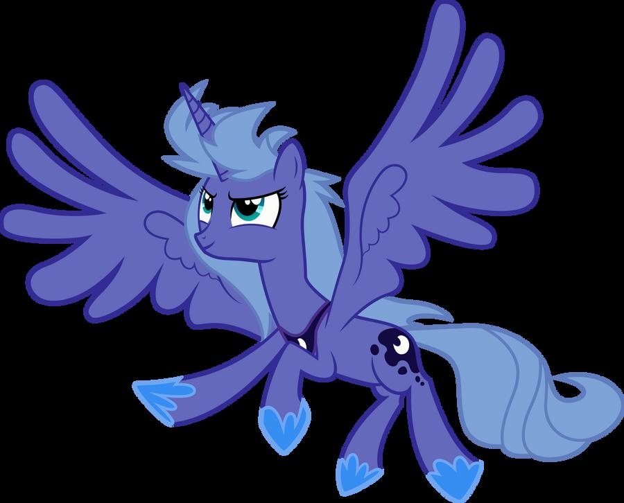 Request - Luna takes flight! by RainbowPlasma on DeviantArt