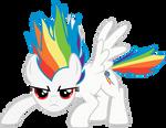 Commission - Super Rainbow Dash