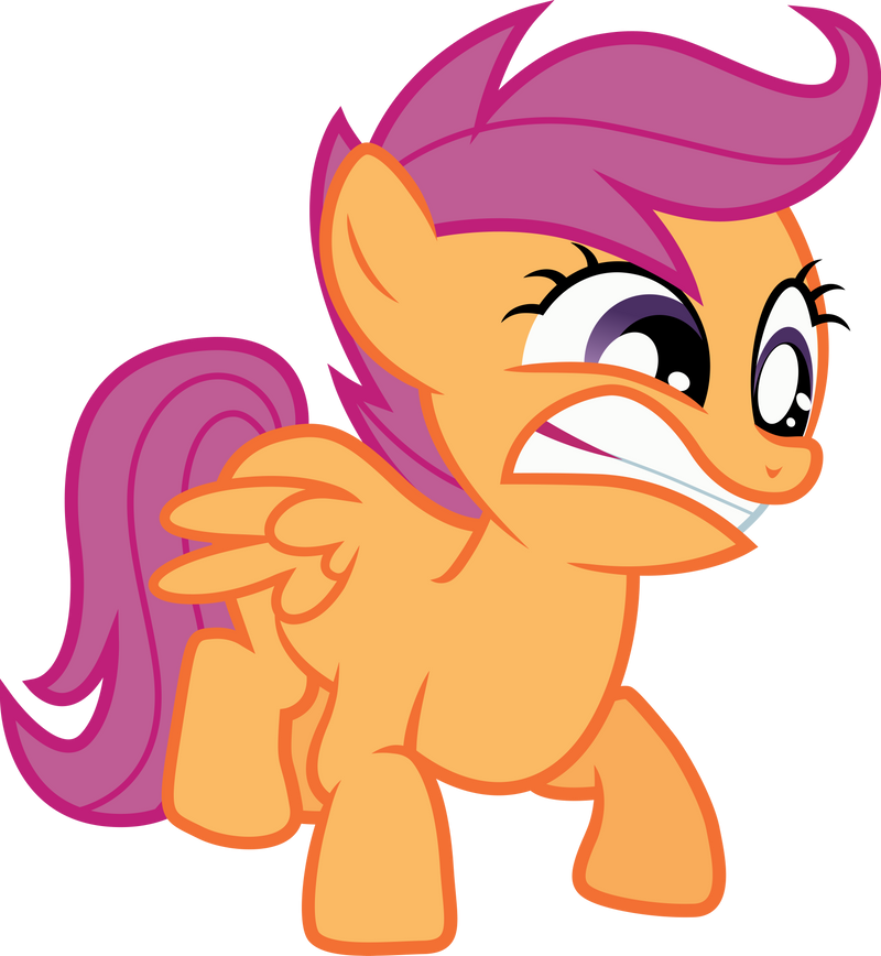 Scootaloo Smash! by RainbowPlasma