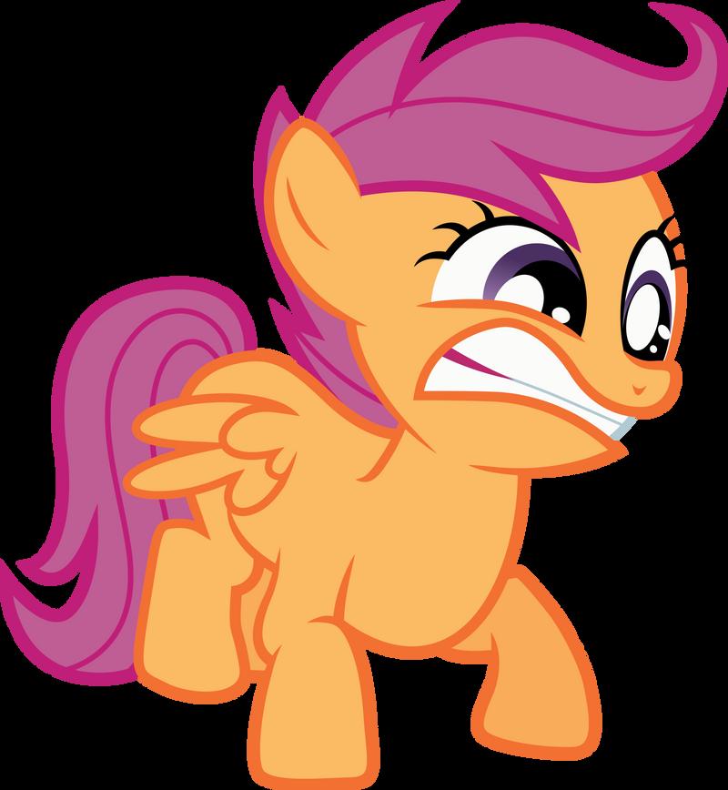 Scootaloo Smash! by RainbowPlasma