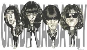 The Ramones by PapaBurgundy