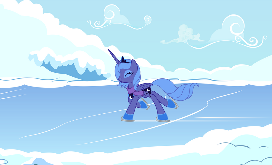 Skating Luna by Tenchi-Outsuno