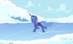 Skating Luna