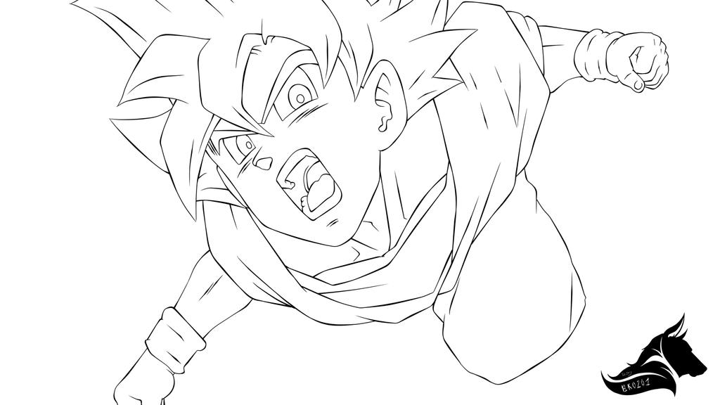 super saiyan god coloring pages - photo#37