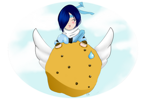 Eon Eats Chip by Missvirginia