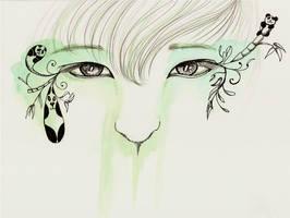 Panda Eyes by Missvirginia