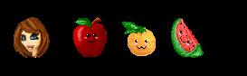 Pixel Practice - Free Fruit! by Missvirginia
