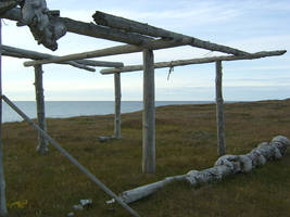 Drying rack 1 by Arctic-Stock