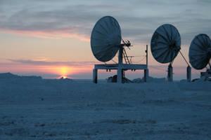 Arctic sat dishes 2