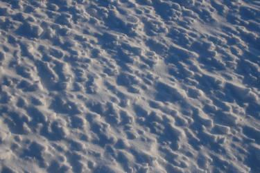 Texture - hard blown snow