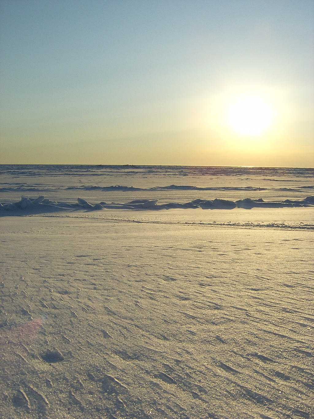 Sun on ice 3 by Arctic-Stock