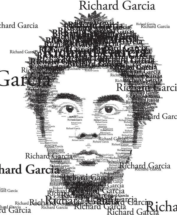 Typographical Self Portrait