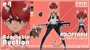 [HOSTED] ADOPTABLE AUCTION #04 [HOSTED] by Rolleta