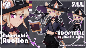 [CLOSED] ADOPTABLE AUCTION #08 [CLOSED] by Rolleta