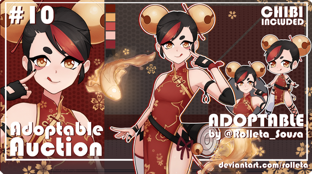 [CLOSED] ADOPTABLE AUCTION #10 [CLOSED]