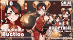 [CLOSED] ADOPTABLE AUCTION #10 [CLOSED] by Rolleta