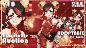 [OPEN] ADOPTABLE AUCTION #10 [OPEN] by Rolleta