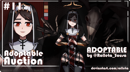 [CLOSED] ADOPTABLE AUCTION #11 [CLOSED] by Rolleta