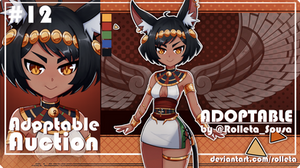 [OPEN] ADOPTABLE AUCTION #12 [OPEN] by Rolleta