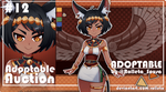[CLOSED] ADOPTABLE AUCTION #12 [CLOSED] by Rolleta