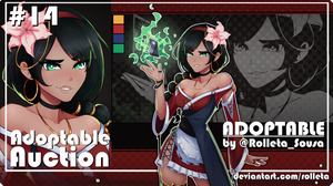[OPEN] ADOPTABLE AUCTION #14 [OPEN] by Rolleta