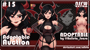[OPEN] ADOPTABLE AUCTION #15 [OPEN] by Rolleta