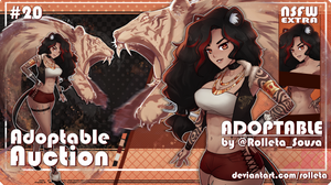 [OPEN] ADOPTABLE AUCTION #20 [OPEN] by Rolleta