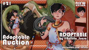 [OPEN] ADOPTABLE AUCTION #21 [OPEN] by Rolleta