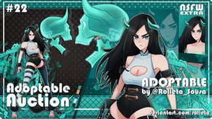 [OPEN] ADOPTABLE AUCTION #22 [OPEN] by Rolleta