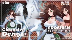 [OPEN] Rolleta's Adoptable#26 [OPEN] by Rolleta