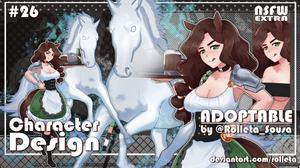[NEW PRICES] Rolleta's Adoptable#26 [OPEN] by Rolleta