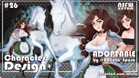 [MOVED] Rolleta's Adoptable#26 [MOVED] by Rolleta