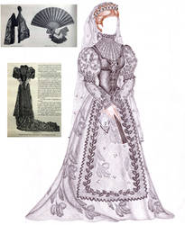 Empress Elisabeth doll clothing by maya40