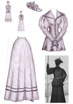 Empress Elisabeth doll clothing