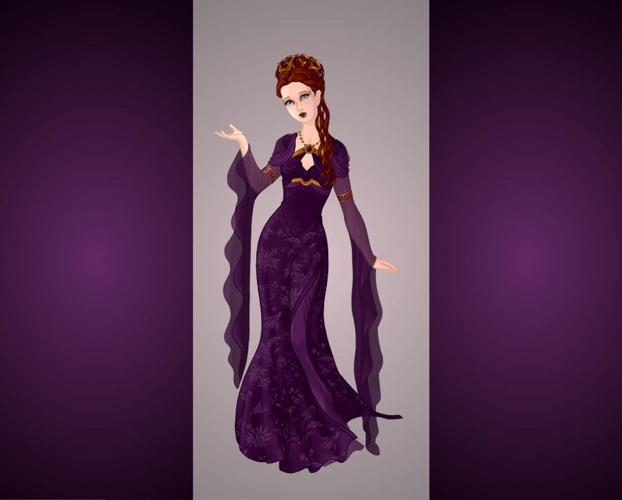sansa stark   purple wedding dress by maya40 d774vxk - Wedding Dresses Under 500
