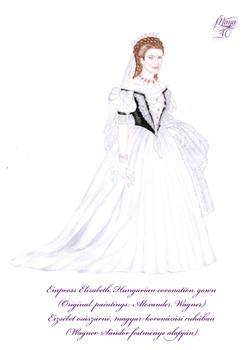 Bernadett Secret Wardrobe - Sisi coronation gown