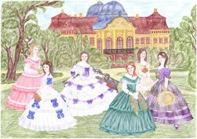Ladies in the park - Winterhalter
